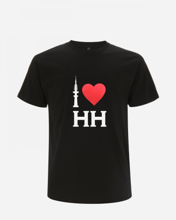 """I love Hamburg"" T-Shirt Schwarz"